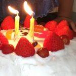 うめ子とケーキ