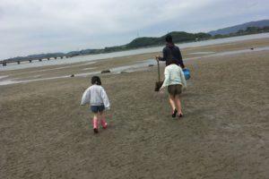 高梁川河口の干潟